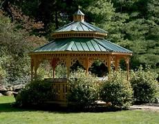 treated pine double roof octagon gazebos gazebos by material gazebocreations com