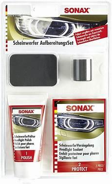 Sonax Scheinwerfer Aufbereitungsset Scheinwerfer