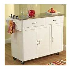 Kitchen Island Cart With Cabinets by Wooden Kitchen Island Cart With Cabinets Stainless