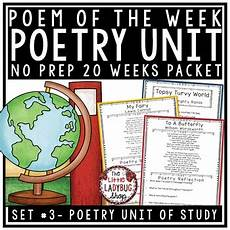 4th grade poetry reading comprehension worksheets 25454 poem of the week poetry comprehension passages 4th grade 5th grade poetry unit