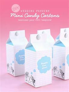 diy wedding favours candy cartons free template 187 eat drink chic