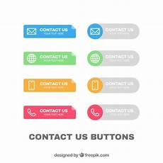 iphone name card template collection of colorful contact buttons vector free