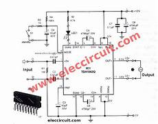 12v Car Audio Lifier Circuit 50w 65w With Pcb