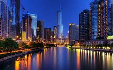 hd chicago skyline wallpapers pixelstalk net