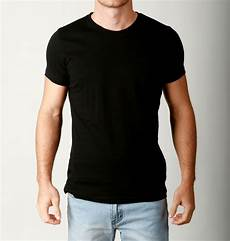 new mens basic crew neck tees cotton plain t shirts casual