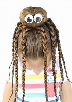 we had fun creating this octopus bun hairstyle with my