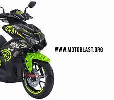 Modifikasi Striping Aerox 155 by Modifikasi Striping Motor Yamaha Aerox 155 Vva Andrea