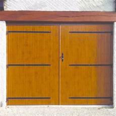 Portes De Garage 2 Vantaux En Bois Pvc Ou Aluminium