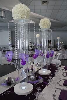 deco mariage blanc decoration salle de mariage blanc et argent
