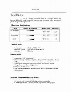 fresher resume sle17 by babasab patil