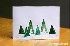 karten basteln weihnachten card crafts nurturestore