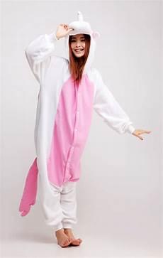 pink unicorn animal kigurumi onesie contacts cow