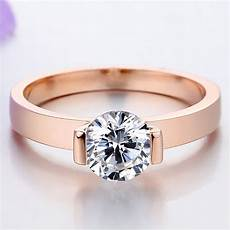 fancy elegant jewelry 1ct cut synthetic diamant