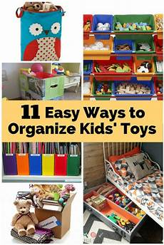 11 easy ways to organize kids toys the budget diet