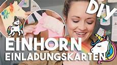 Malvorlagen Einhorn Selber Machen Einhorn Diy Einladungskarten I Kindergeburtstag I Mellis