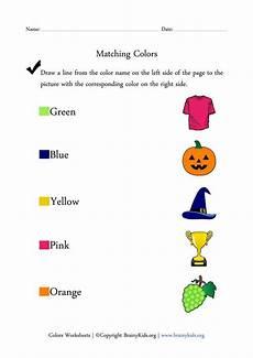 matching colors worksheet for kindergarten 12921 colors worksheets matching colors with pictures activity learning letters childhood