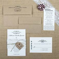 Shabby Chic Wedding Invitation