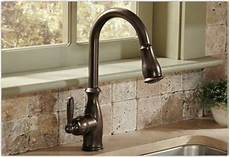 pictures of kitchen sinks and faucets moen 7185csl brantford one handle high arc pulldown kitchen faucet featuring reflex classic