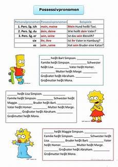german reading comprehension worksheets 19626 possessivpronomen learn german german grammar german language learning