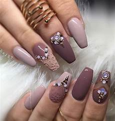 40 must try rhinestone nail art ideas beauty fashion