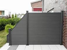 composite garden fence for sale garden patio wpc fence