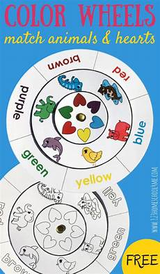 learn colors worksheets free 12775 learn colors with free color matching wheels preschool color activities learning colors