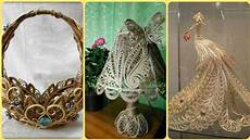 Jute Home Decor Ideas by Beautiful Quilling Jute Craft Ideas Jute Decoration