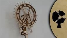 korona holzuhr wooden clock