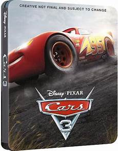 cars 3 sortie cars 3 steelbook 233 dition collector dvd 4k 3d