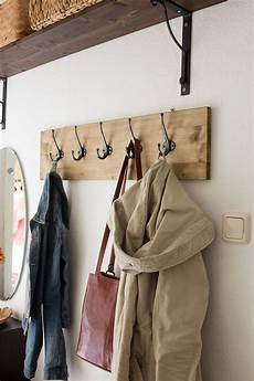 Wandgarderobe Selber Bauen - diy hakenleiste f 252 r garderobe bauen garderobe diy
