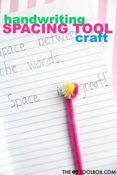handwriting worksheets diy 21345 diy handwriting spacing tool craft handwriting activities learn handwriting improve your