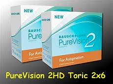 purevision 2 hd for astigmatism toric 2 x 6 st 252 ck ebay