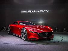 Mazda RX Vision Rotary Engined Sports Car Concept New Two