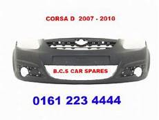 vauxhall corsa d mk 3 front bumper 07 08 reg new new in primer ready for paint