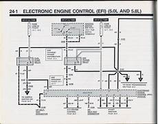 Efi System Wiring Diagram On 1995 Mustang Gt 5 0 by 1990 Ford Bronco 1990 Bronco Evtm Pictures And