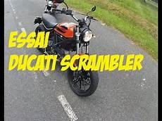 Essai Ducati Scrambler Permis A2
