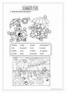 summer fun worksheet free esl printable worksheets made by teachers