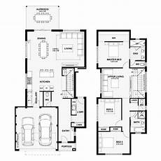 small double storey house plans narrow lot homes perth two storey house plans double