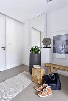 flur modern sitzbank im flur modern gestalten skandinavischer wohnstil