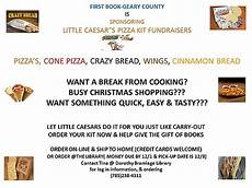 first book geary county little caesar s pizza kit fundraiser nov 1 2014 to nov 26 2014