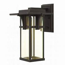 hinkley lighting manhattan outdoor wall lighting hinkley lighting manhattan led outdoor wall light 2324oz led destination lighting
