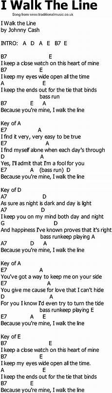 easy country guitar songs country song lyrics with chords i walk the line country song lyrics guitar chords