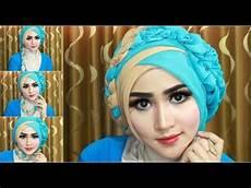 Kreasi Jilbab Segi Empat 3 Warna Bisabo Channel 2020