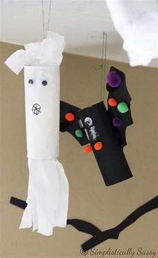 Toilet Paper Roll Bats And Ghosts Ideas