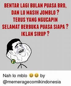 Meme Rage Comic Indonesia Bulan Puasa Lucu Sekali Ayo