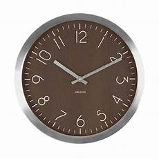 wall clock wood charm wood karlsson ka5609dw