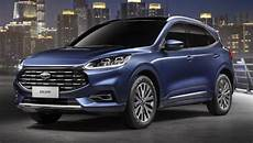 Ford Kuga Farben - 2020 ford escape for china kuga gets grille