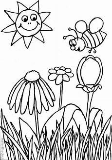 Ausmalbild Biene Einfach Ausmalbild F 252 R Kinder Biene Malerklecksi