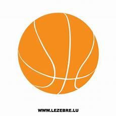 Autocollant Ballon Basketball