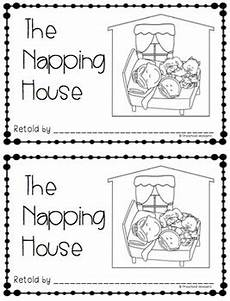 the napping house lesson plan the napping house retelling pack by preschool wonders tpt